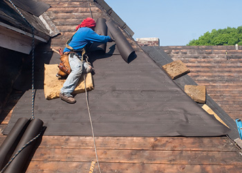 Roofing - Martino Home Improvements - roll