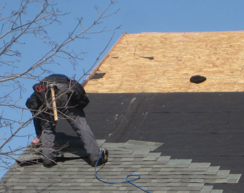 Tear Off Roof Install By Martino Home Improvements