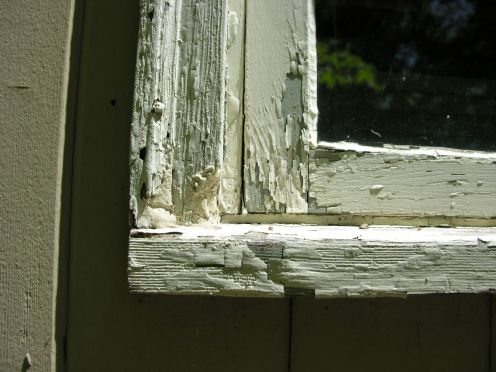 Image result for rotting window