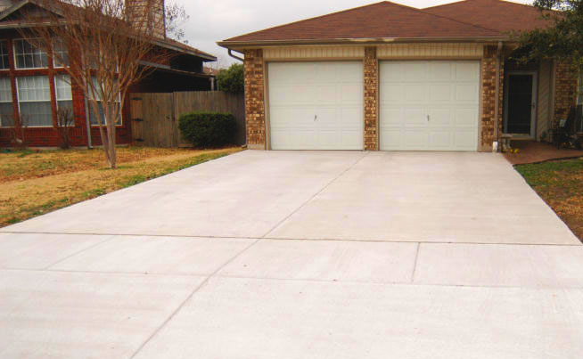 Concrete Driveway in Macomb County
