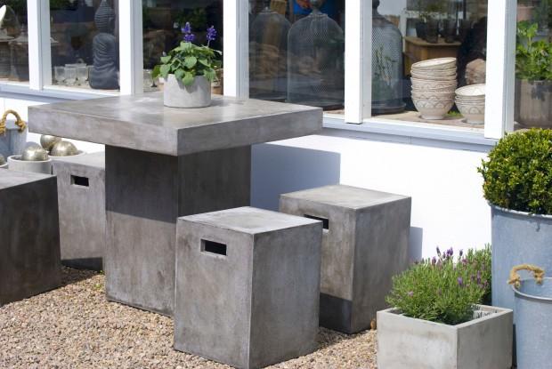 Concrete Patio Furniture