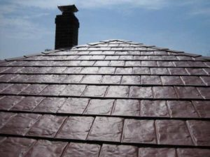 Metal Shingle Roof in Oakland County Michigan