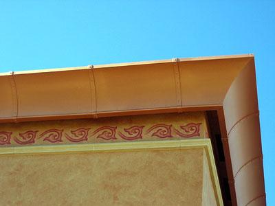 Michigan Roofing Terminology - Cornice
