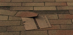 Roof Shingle Damage From Wind