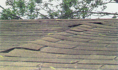 Sagging Roof in Macomb County