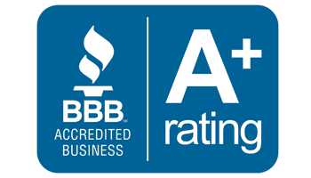 BBB Accredited A+Rating