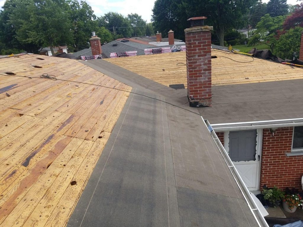 Warren Michigan Roof Replacement - In Progress (4)