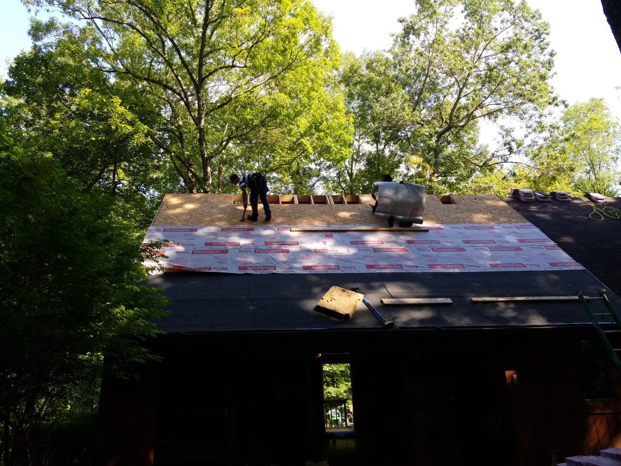 Oakland County Roof Replacement in Progress 3