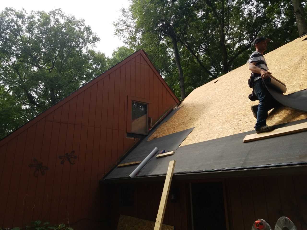 Oakland County Roof Replacement in Progress