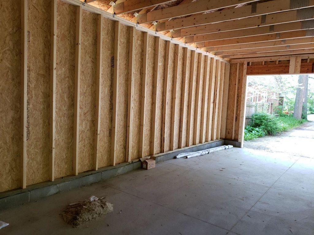 Royal Oak Garage Addition and Siding