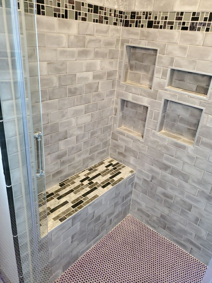 Troy Michigan Bathroom Remodel Shower