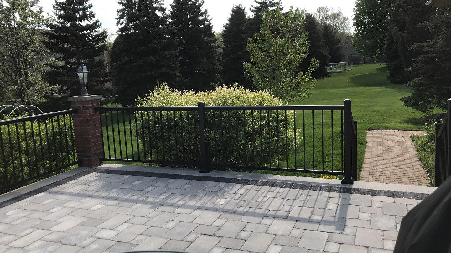 Troy Michigan Concrete Patio Stamped