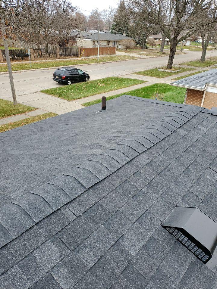 Warren MI Roof Installer