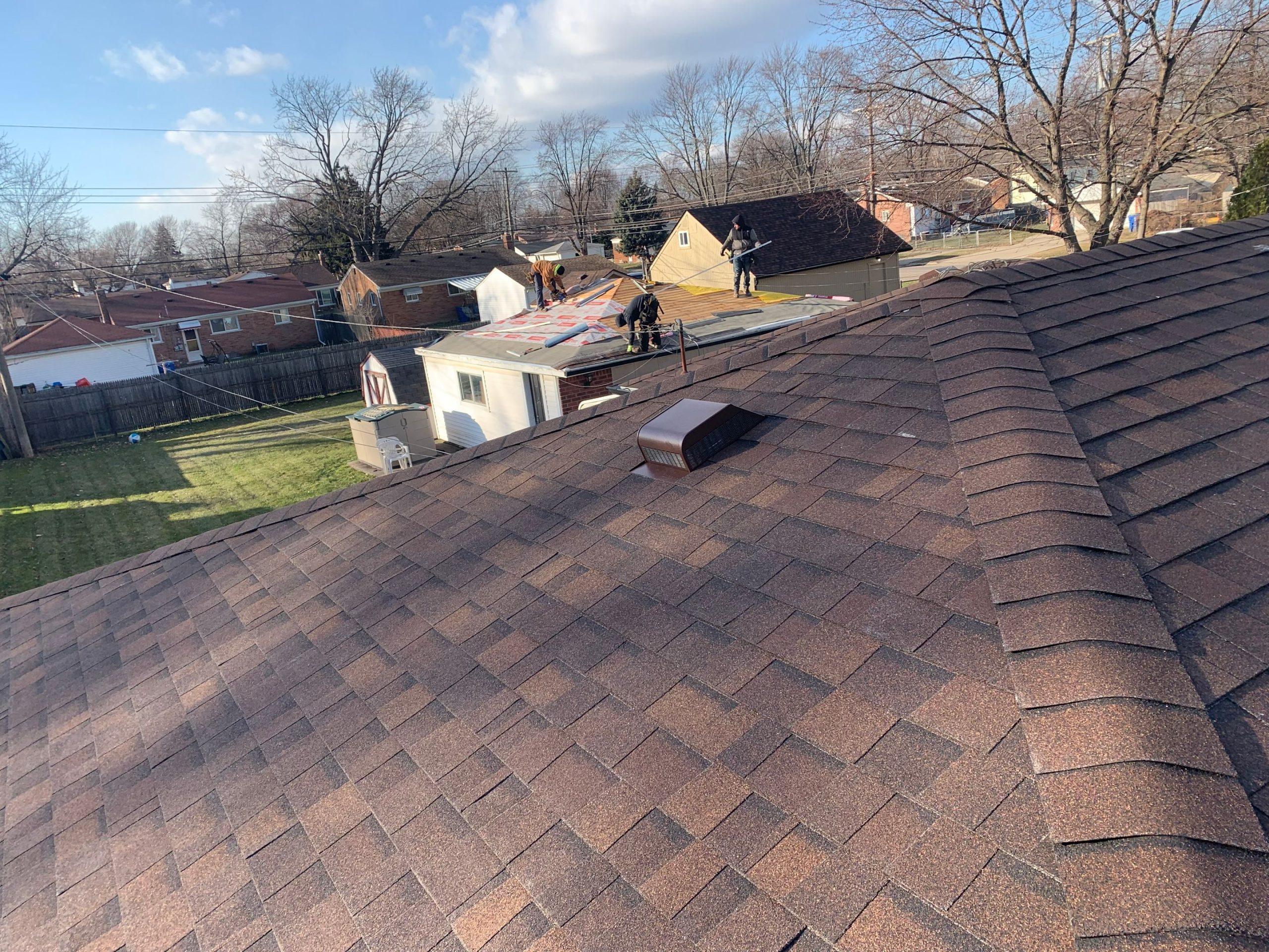 Warren Macomb Michigan Roof Installation