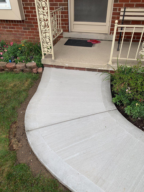 Warren Michigan Concrete Sidewalk Company