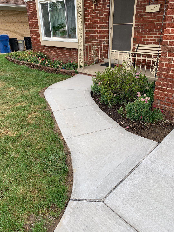 Warren Michigan Concrete Sidewalk Replacement