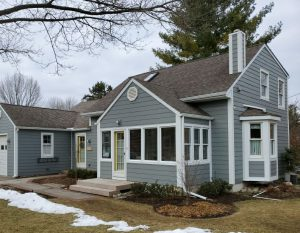 James Hardie Siding Winter Install in Fraser Michigan