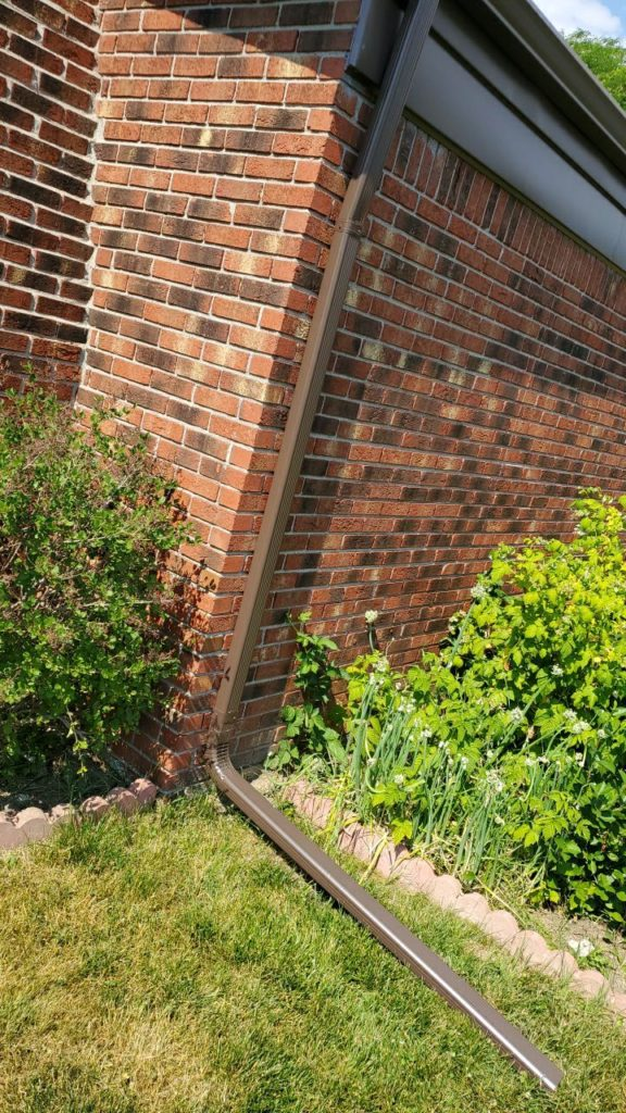 Canton Michigan Gutter Downspout Replacement