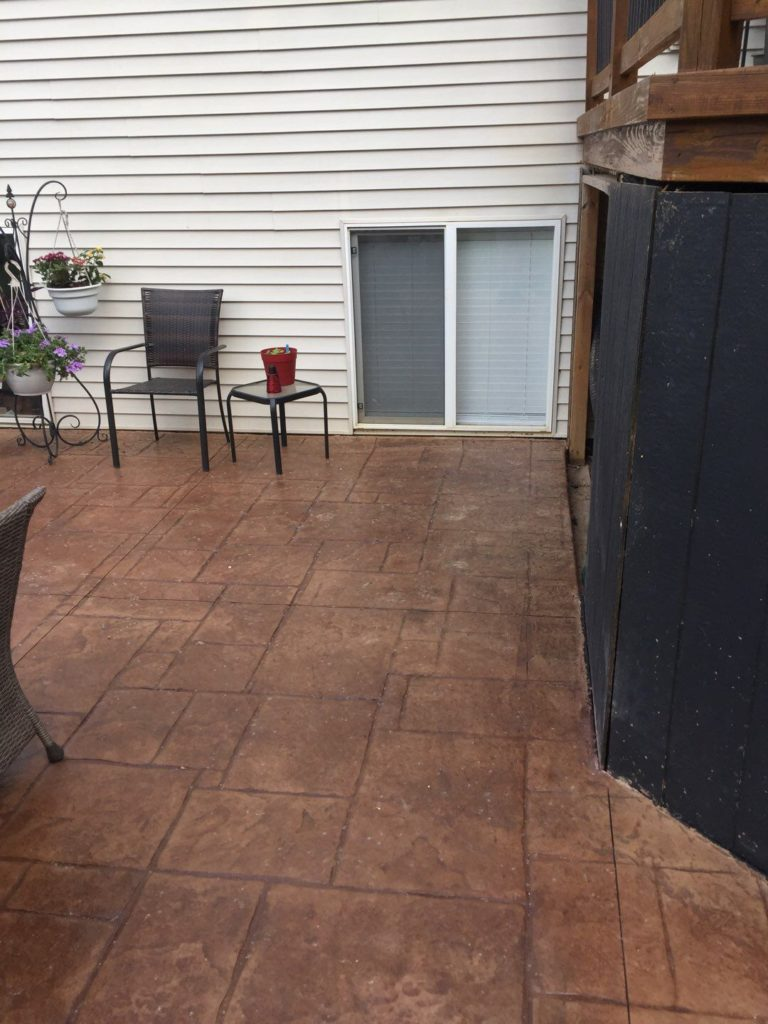 Commerce Township Michigan Stamped Concrete