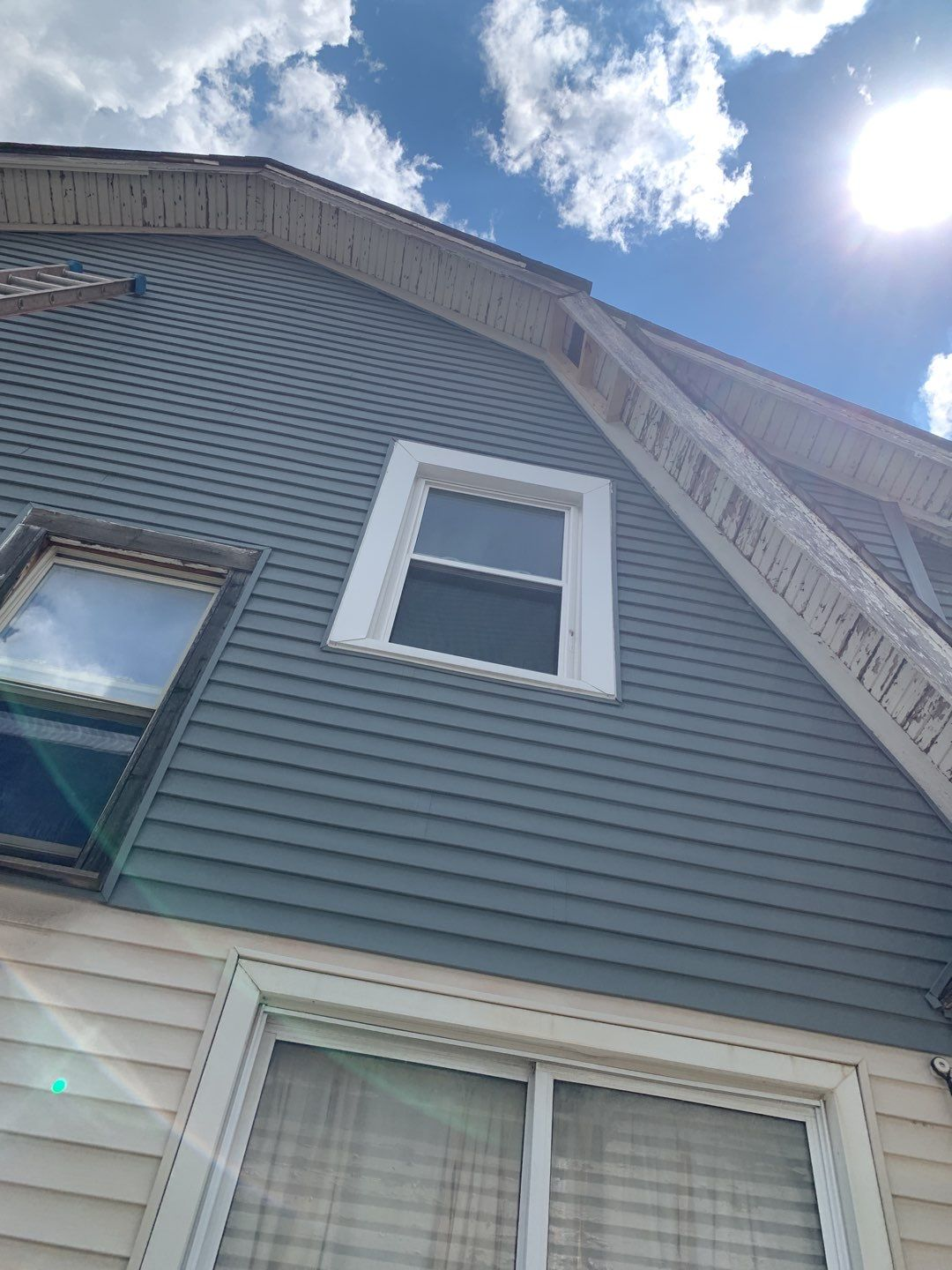 Detroit Michigan Soffit Replacement Before