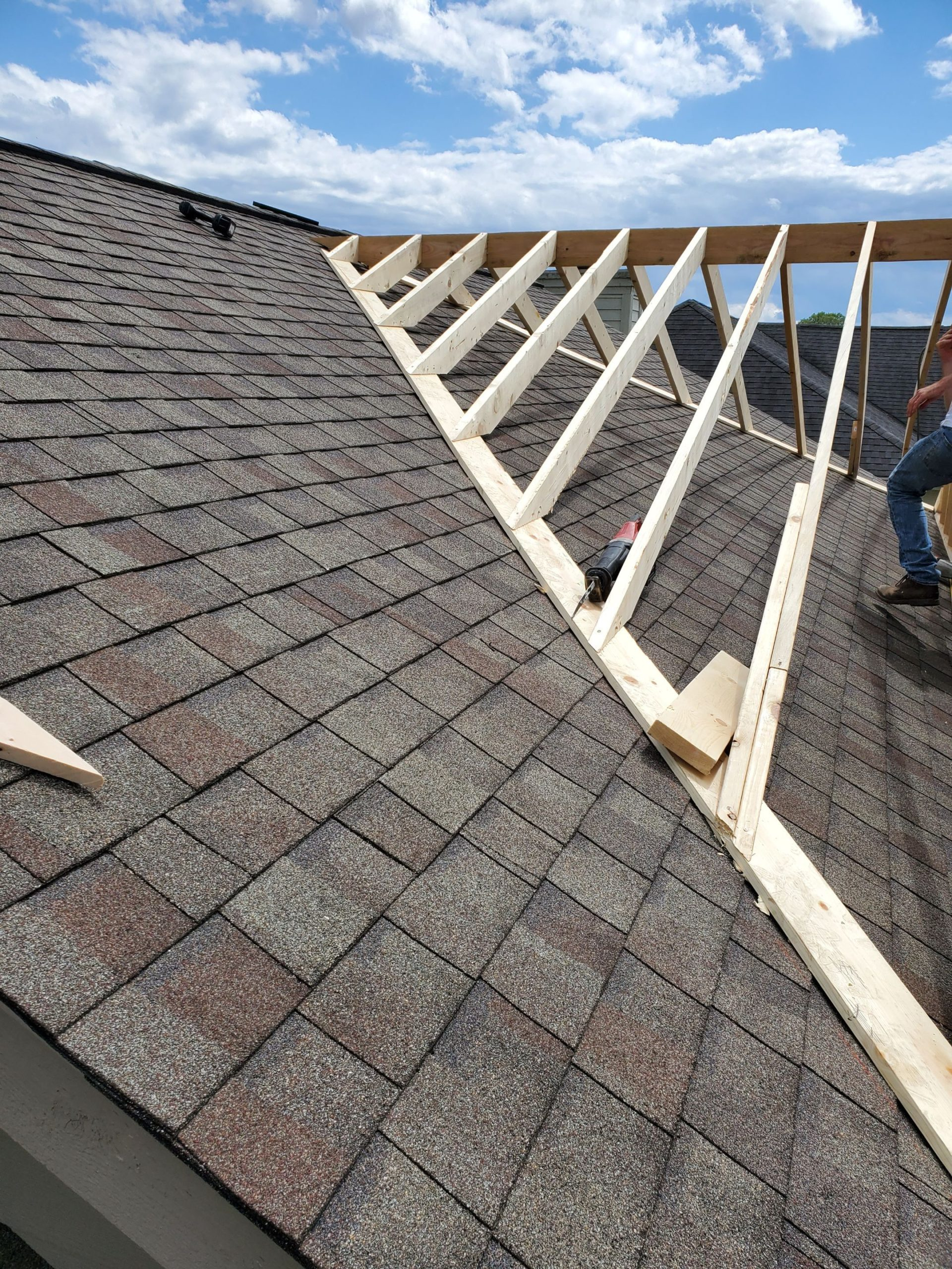 Clarkston Dormer Roofing Company Build