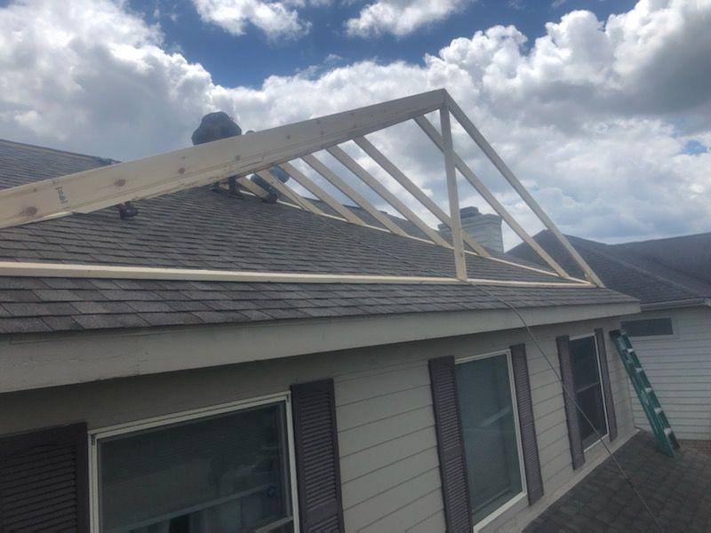 Clarkston Michigan Roofing Dormer Build