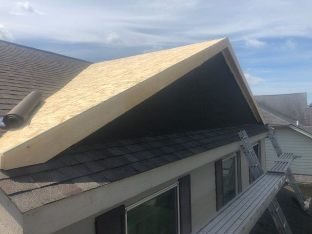 Michigan Roofing Company Dormer Build
